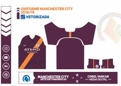 Uniforme Manchester City 2018-19 - 3