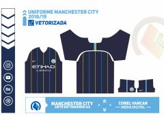 Uniforme Manchester City 2018-19 - 2