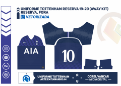 Uniforme Tottenham Reserva 19-20 (Away kit