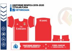 Uniforme Benfica 2019-2020