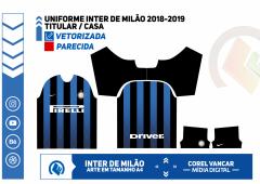 Uniforme Inter de Milão 2018-2019
