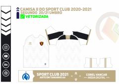 Camisa 2 do Sport Club UMBRO 2020-2021