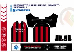 Uniforme Milan Titular 2020-2021 (Home kit) PUMA