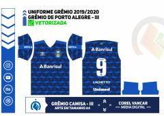 UNIFORME III - GRÊMIO 2019-2020