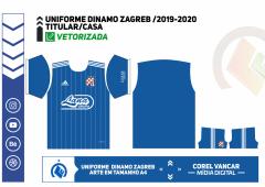 Uniforme Dinamo Zagreb 2019-2020