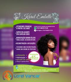 Flyer Salão de Beleza Especial