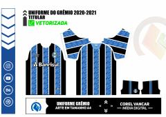 Camisa do Grêmio 2020-2021 - Titular