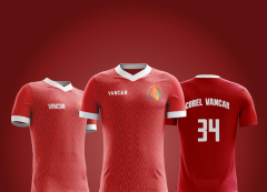 Modelo de Camisa Esportivo - Futebol - Sigilo