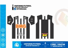 Uniforme do Atlético MG / Titular 2019