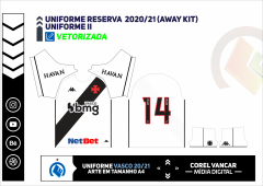 Uniforme Reserva  2020-21 (Away kit)