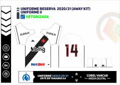 Uniforme Reserva  2020-21 (Away kit)