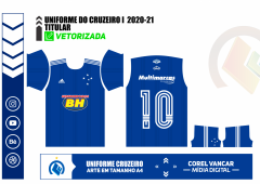 UNIFORME DO CRUZEIRO I  2020-21