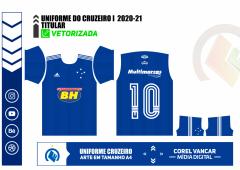 UNIFORME DO CRUZEIRO I  2020-21