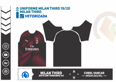 Uniforme Milan Third 19-2020