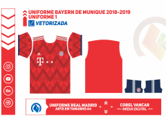 Uniforme Bayern de Munique 2018-2019