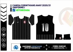 CAMISA CORINTHIANS AWAY 2020-21