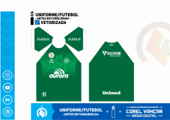 Uniforme do Chapecoense 1 / 2019