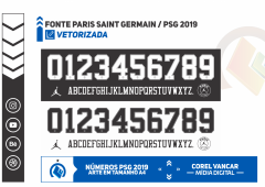Fonte PSG Paris Saint-Germain – JORDAN /2018/19