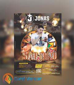 Flyer - Festa Junina, Especial São João