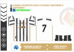 Camisa Juventus 2020-21 (Home-Uniforme 1)