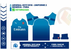 ARSENAL 2017 - 2018 - UNIFORME 2