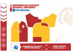 Uniforme Galatasaray  2019 e 2020