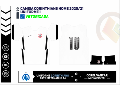 CAMISA CORINTHIANS HOME 2020-21