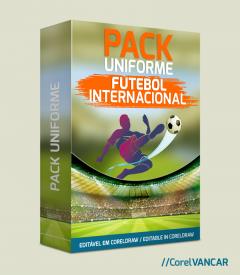 Pack Camisas de Futebol Internacional 2018 e 2019  / Principais Champions League