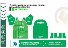 UNIFORME PALMEIRAS GOLEIRO 2021
