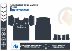 Uniforme Real Madrid 2018-2019 - 2