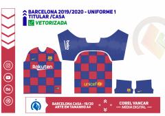 BARCELONA 2019 / 2020 - UNIFORME 1