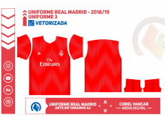 Uniforme Real Madrid 2018-2019 - 3