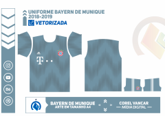 Uniforme Bayern de Munique 2018-2019 - 3