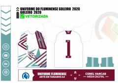 UNIFORME DO FLUMINENSE GOLEIRO / 2020