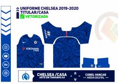 Uniforme Titular/ Casa -  Chelsea 2019-2020