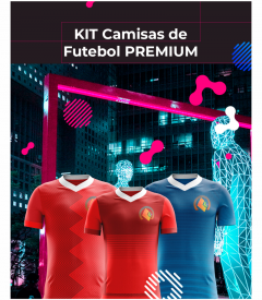 KIT CAMISAS ESPORTIVAS - PREMIUM - 2019