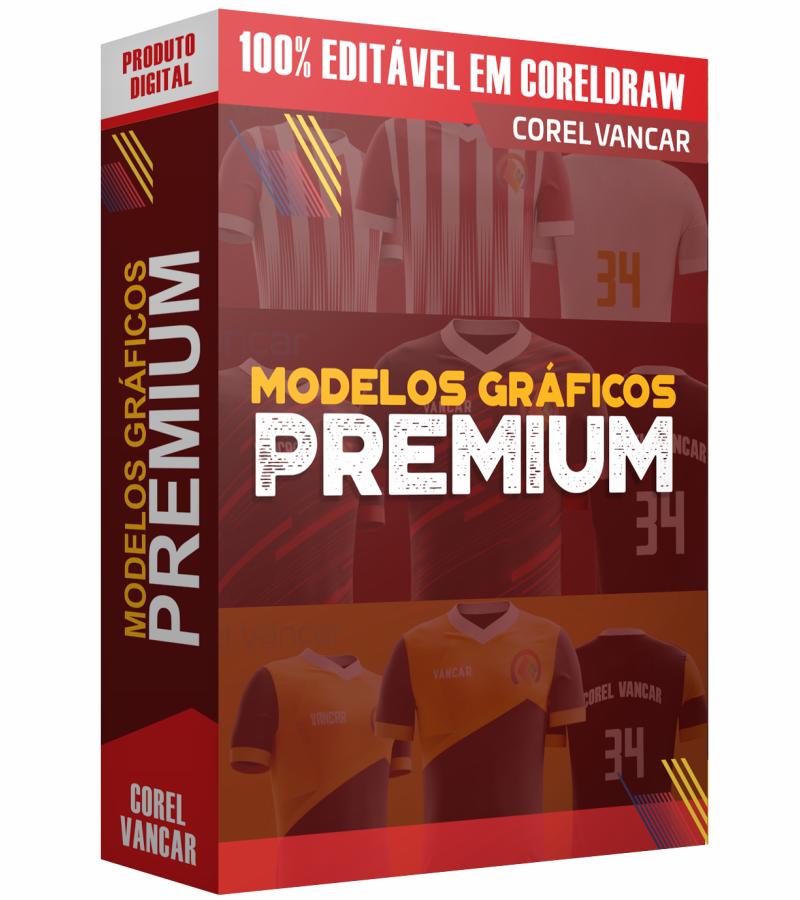 90f1ba60d1 KIT PREMIUM ESPORTIVO - CAMISAS DE FUTEBOL E FUTSAL