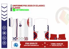 Uniforme PSG 2020-2021 (Home kit)