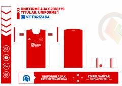 Uniforme Ajax 2018-2019