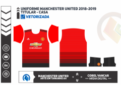 Uniforme Manchester United 2018-2019 - Titular Casa