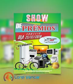 Cartaz Show de Prêmios