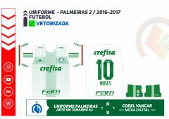 PALMEIRAS 2016 - UNIFORME 2