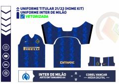 Uniforme Titular (Home kit) Inter Milan 2021-22