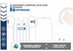 Uniforme Liverpool 2019-2020 -Reserva